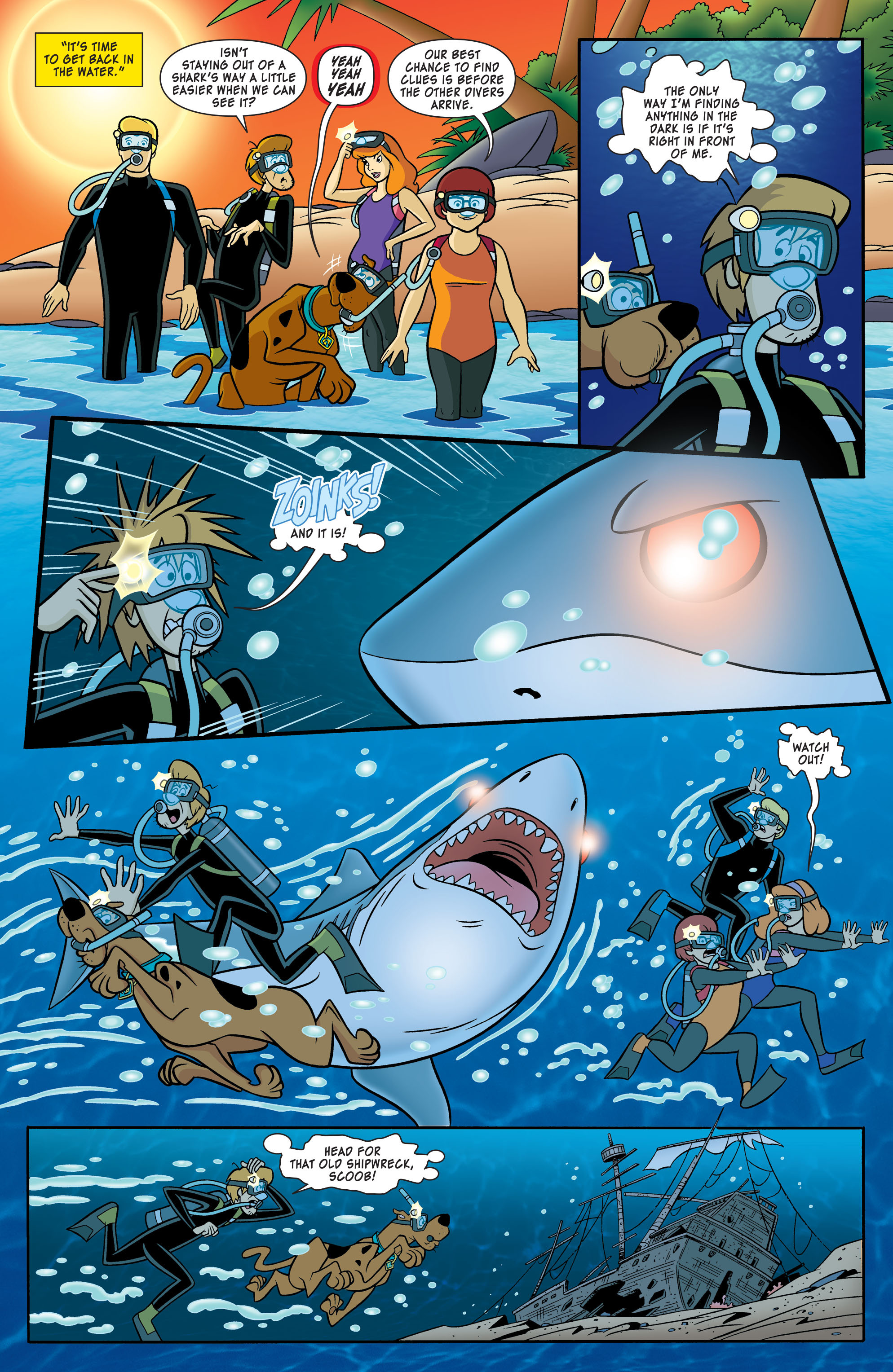Read online Scooby-Doo: Where Are You? comic -  Issue #54 - 7