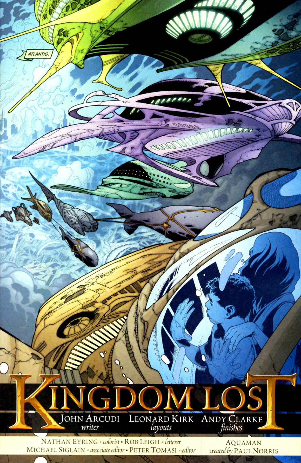 Read online Aquaman (2003) comic -  Issue #38 - 2