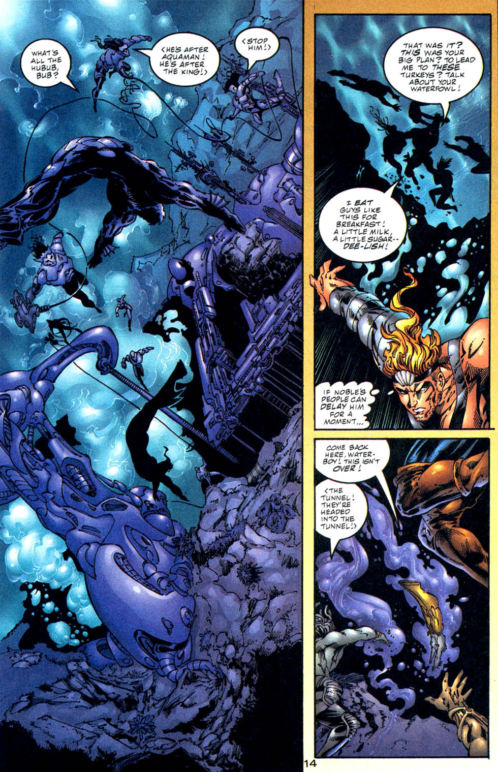Aquaman (1994) Issue #57 #63 - English 15