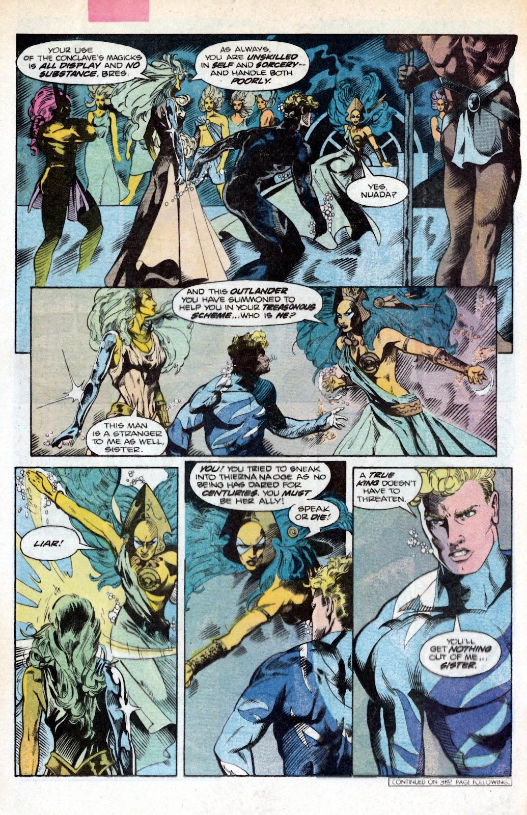 Aquaman (1986) Issue #2 #2 - English 12