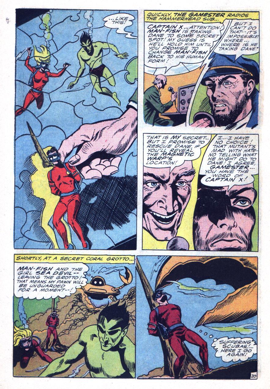 Read online Sea Devils comic -  Issue #26 - 31