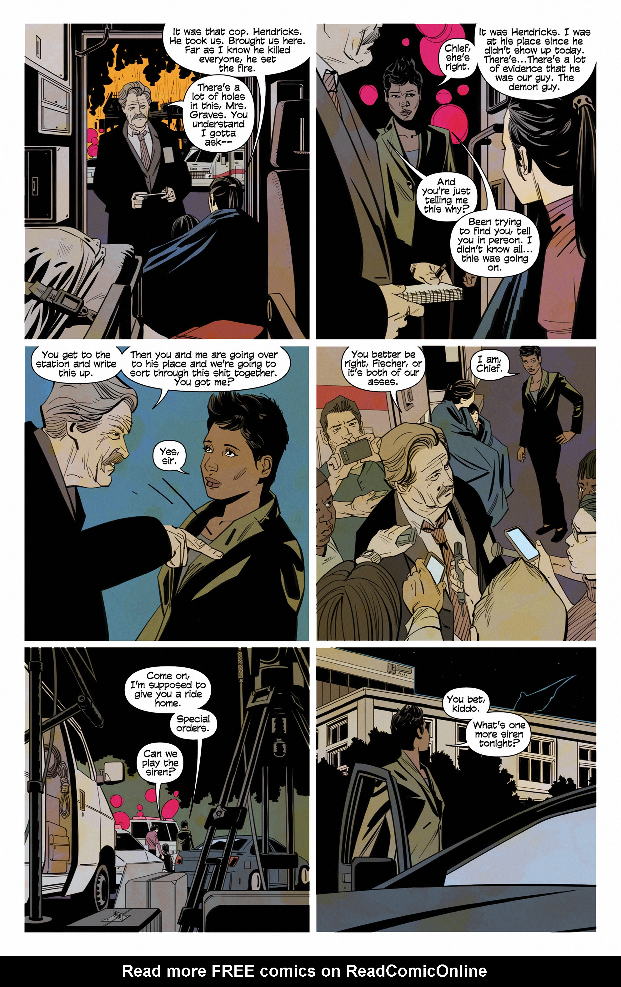 Read online Demonic comic -  Issue #6 - 18