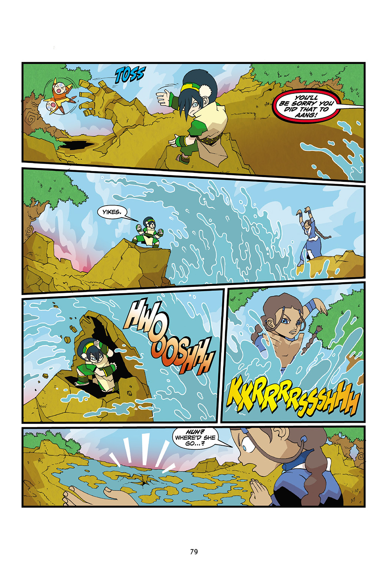 Nickelodeon Avatar: The Last Airbender - The Lost Adventures chap full pic 80