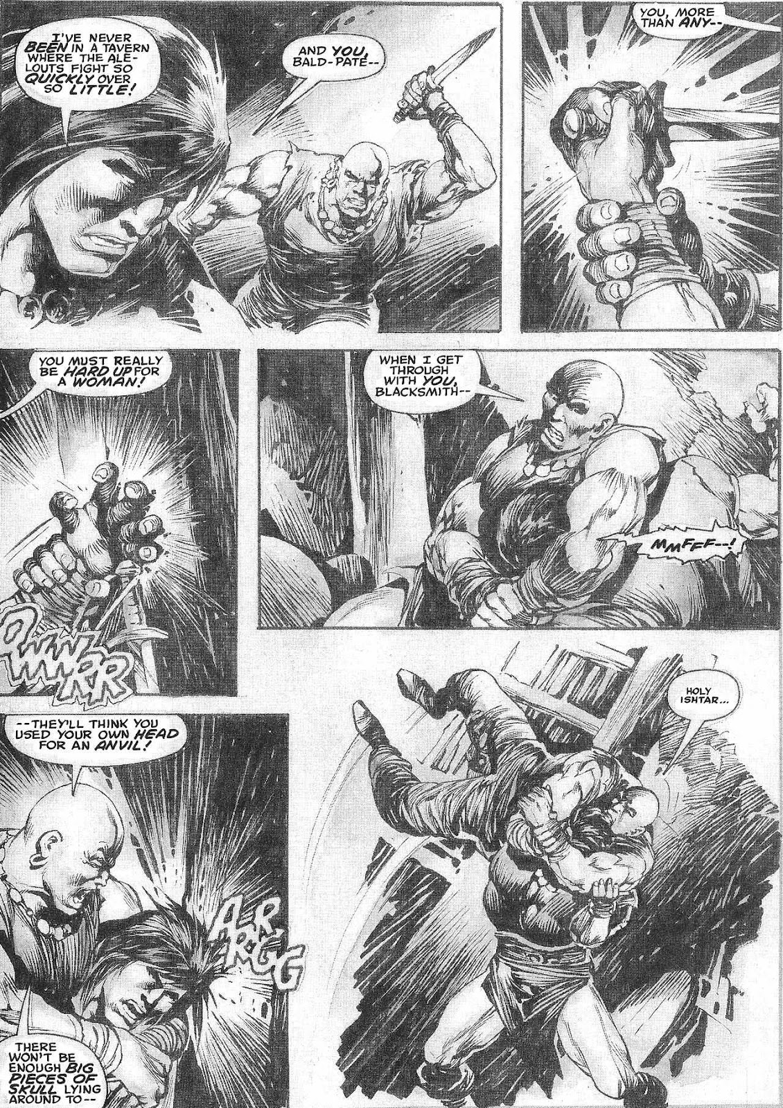 The Savage Sword Of Conan Issue #209 #210 - English 20