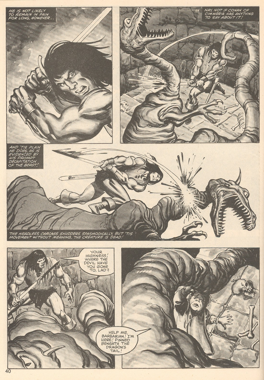 The Savage Sword Of Conan Issue #76 #77 - English 40