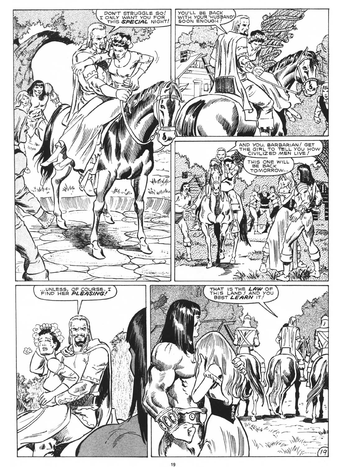 The Savage Sword Of Conan Issue #171 #172 - English 21
