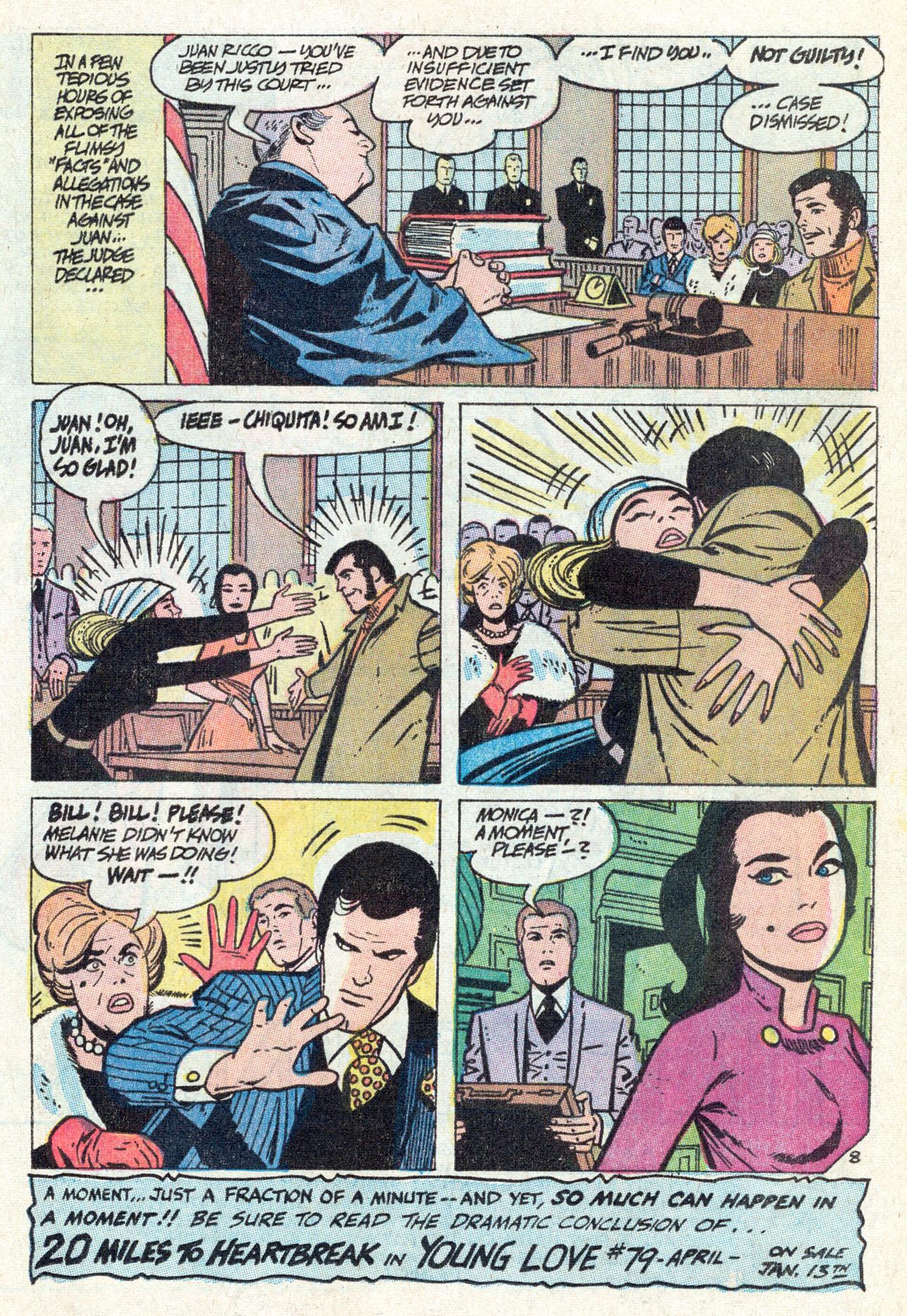 Read online Secret Hearts comic -  Issue #142 - 17