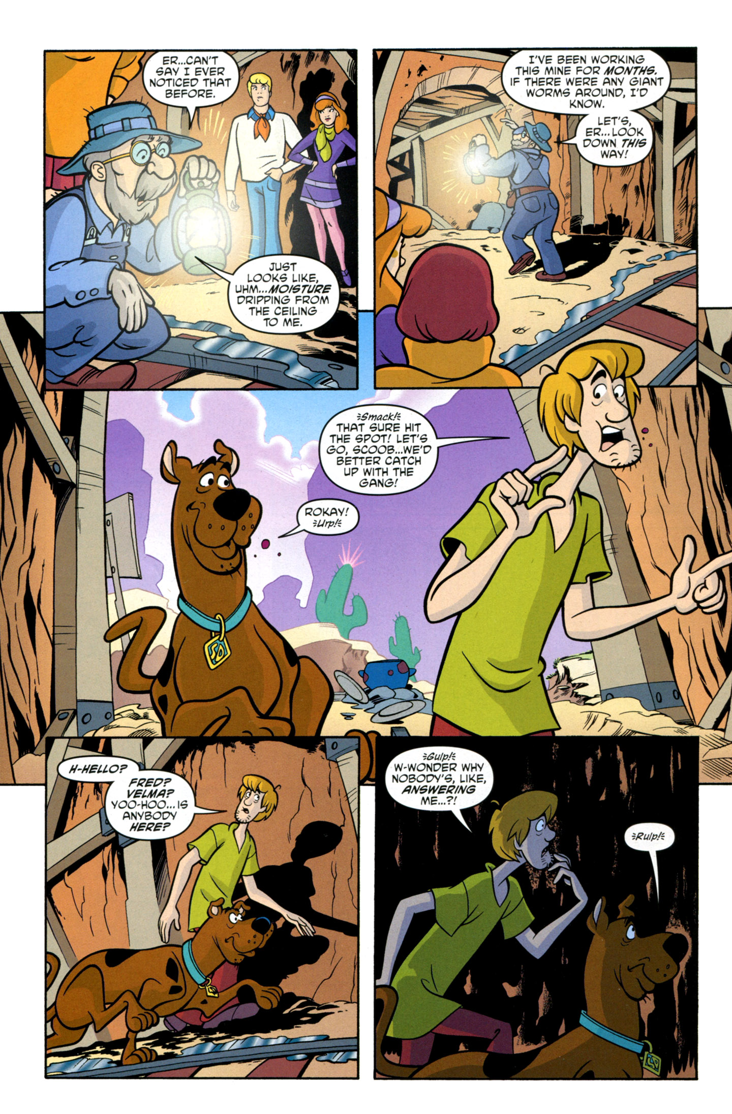 Read online Scooby-Doo: Where Are You? comic -  Issue #14 - 30