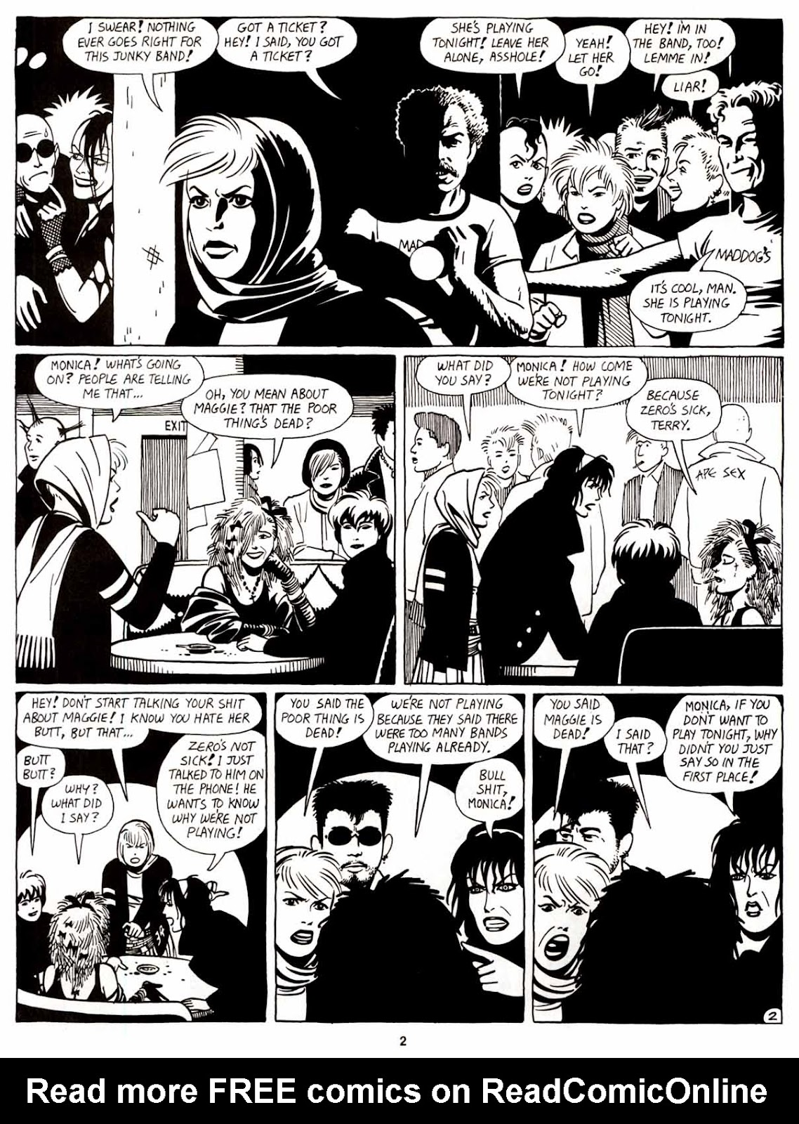 Love and Rockets (1982) Issue #8 #7 - English 4