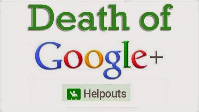 Google Discontinue Google+ Helpouts : eAskme