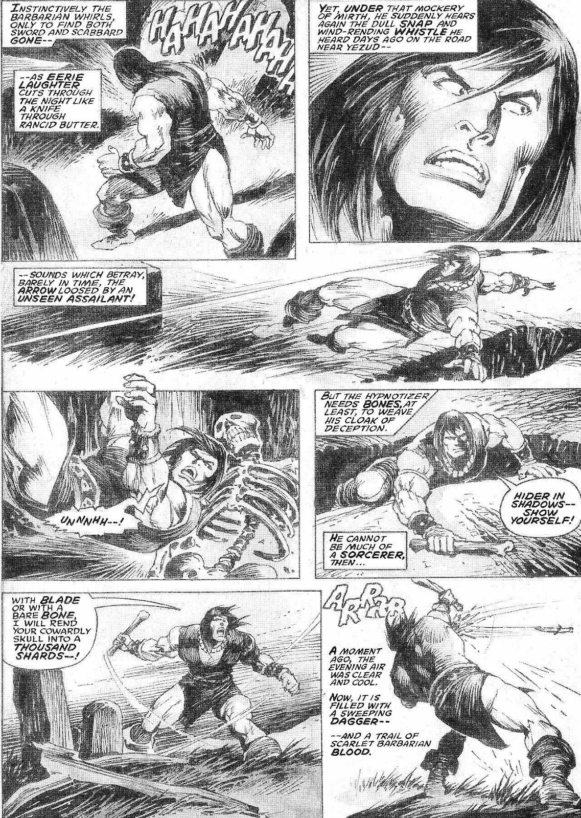 The Savage Sword Of Conan Issue #210 #211 - English 7