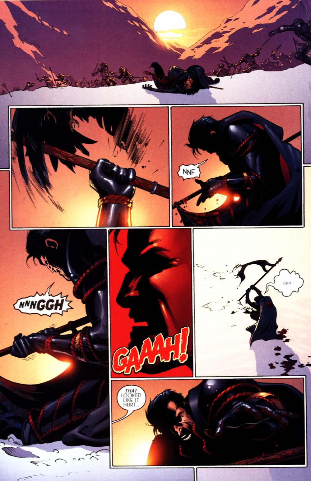 Read online Scion comic -  Issue #22 - 24