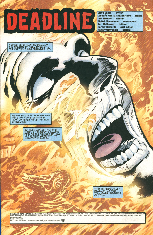 Read online Deadman: Dead Again comic -  Issue #5 - 2