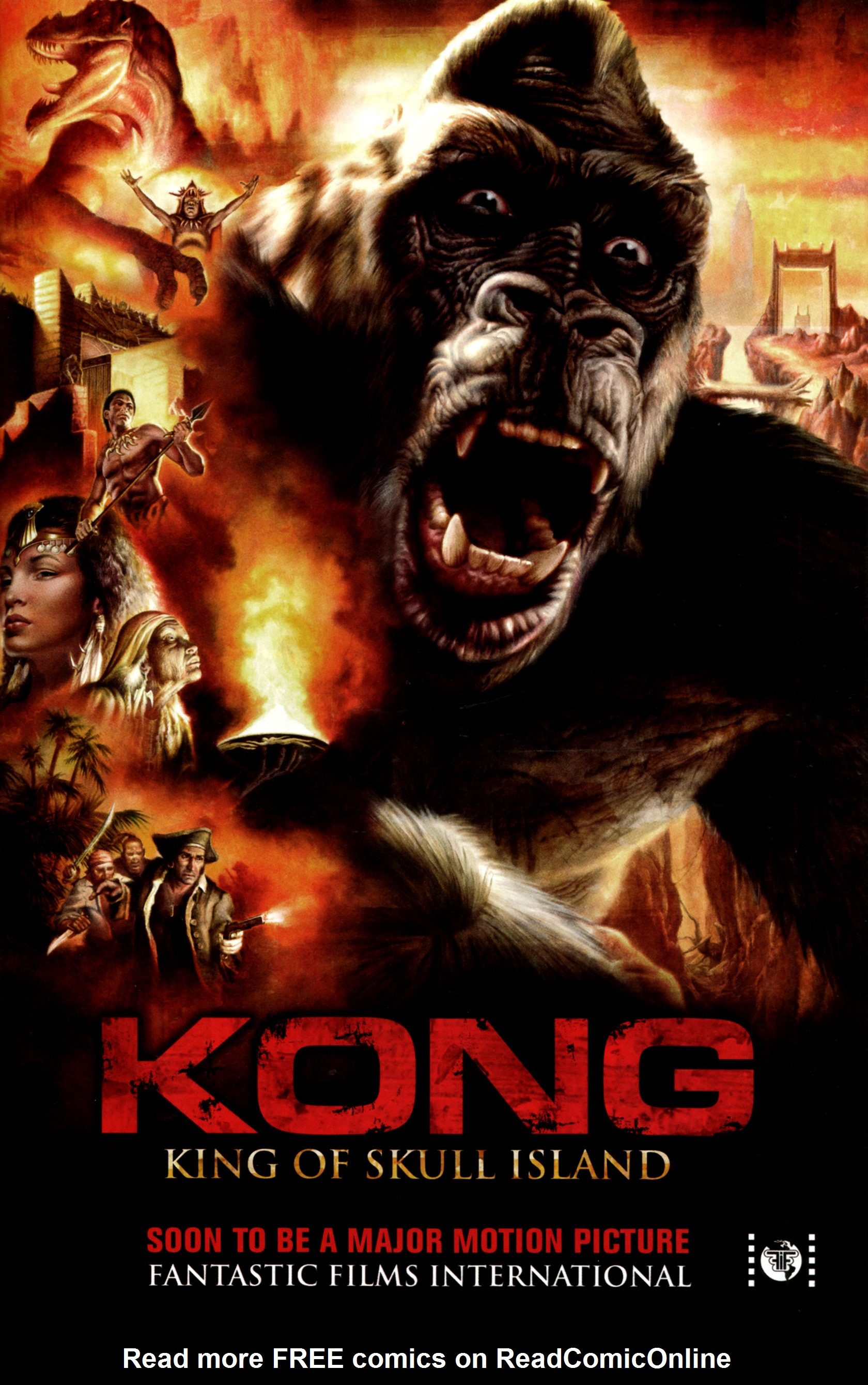 Read online Kong: King Of Skull Island comic -  Issue #4 - 30
