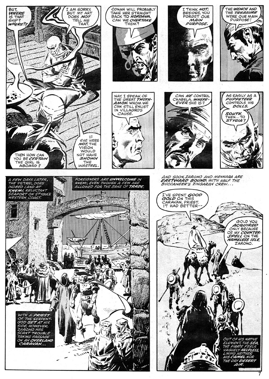 The Savage Sword Of Conan Issue #41 #42 - English 7