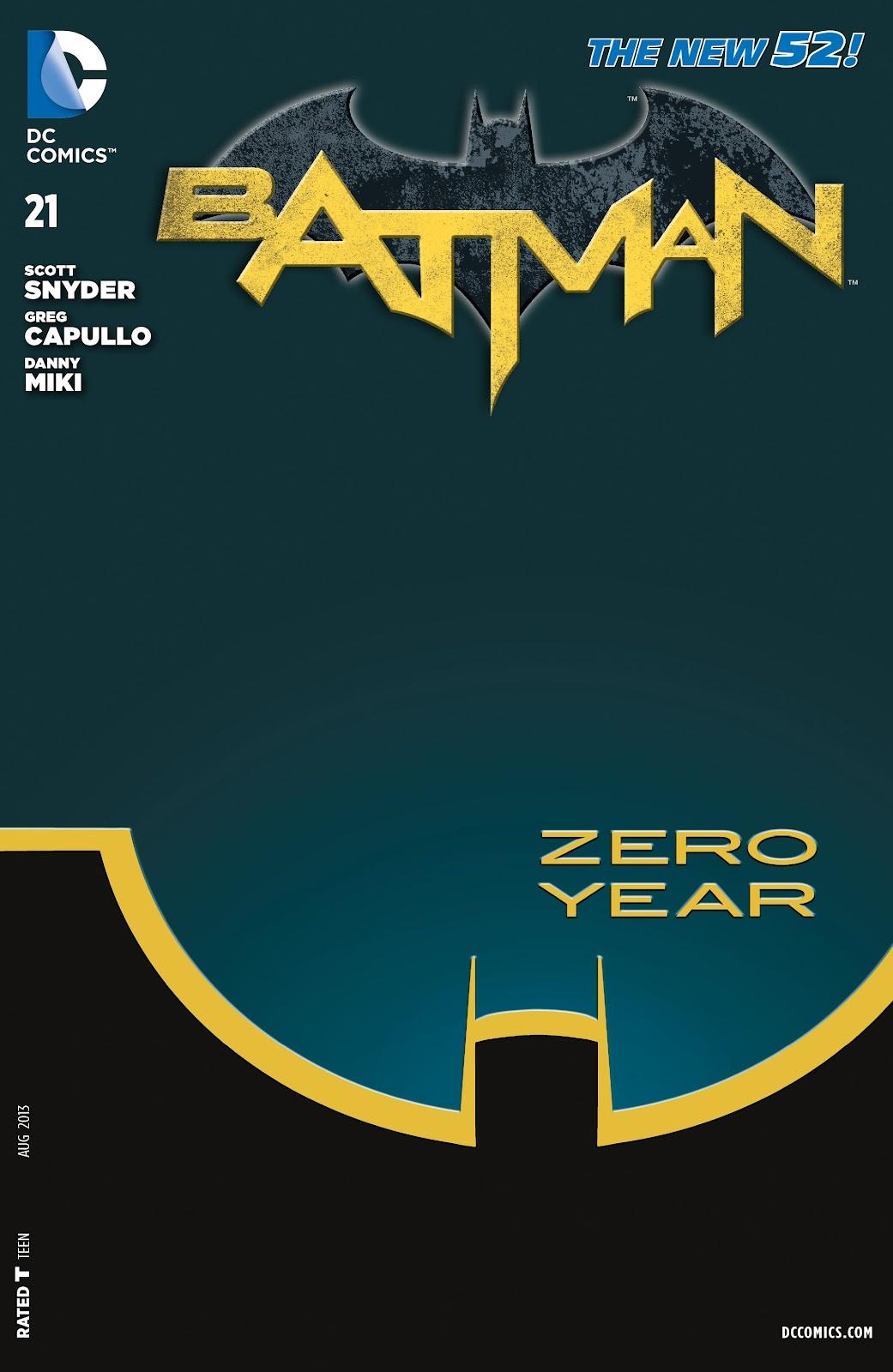 Batman (2011) Issue #21 #36 - English 1