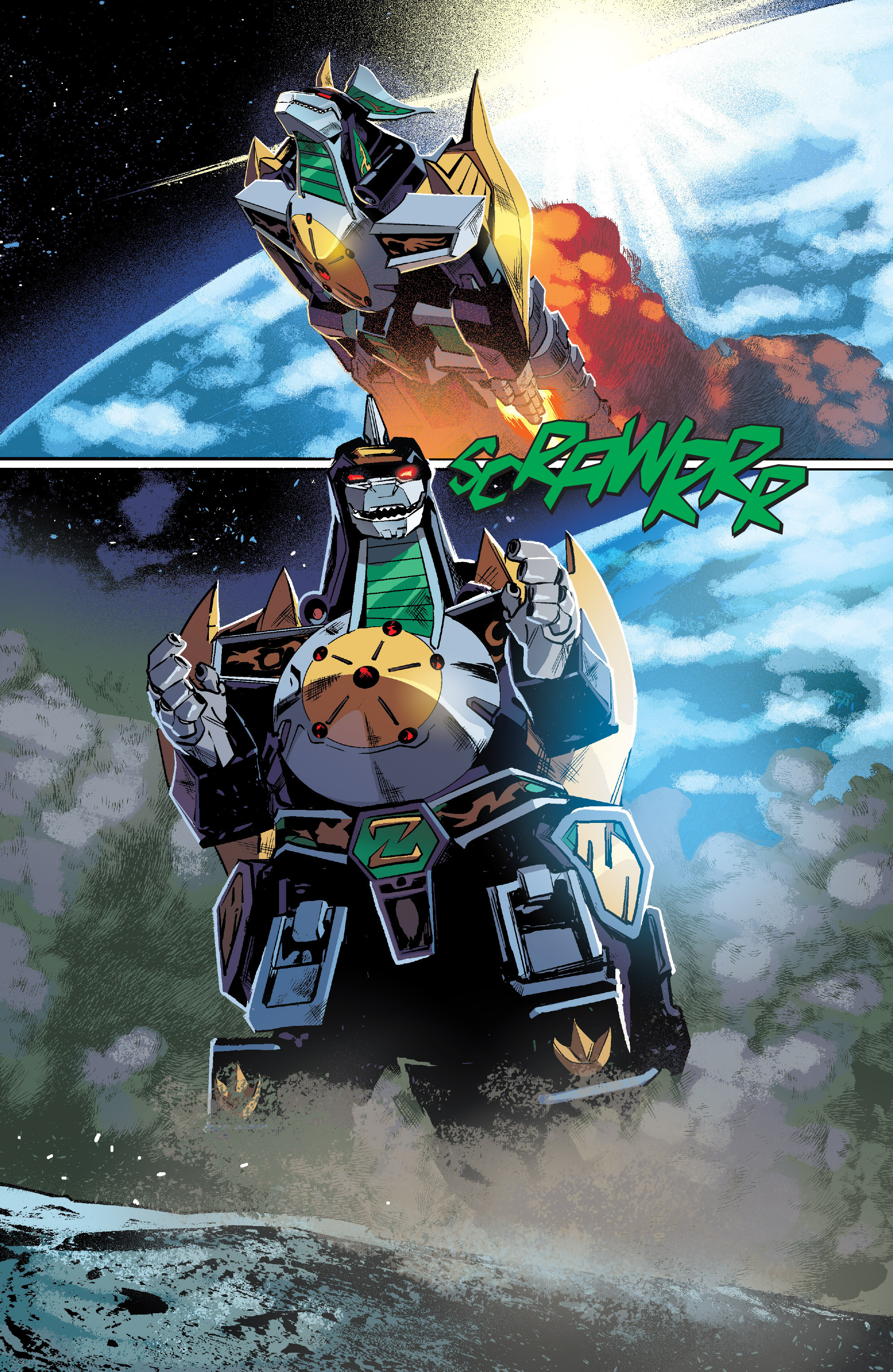 Read online Mighty Morphin Power Rangers comic -  Issue #7 - 14
