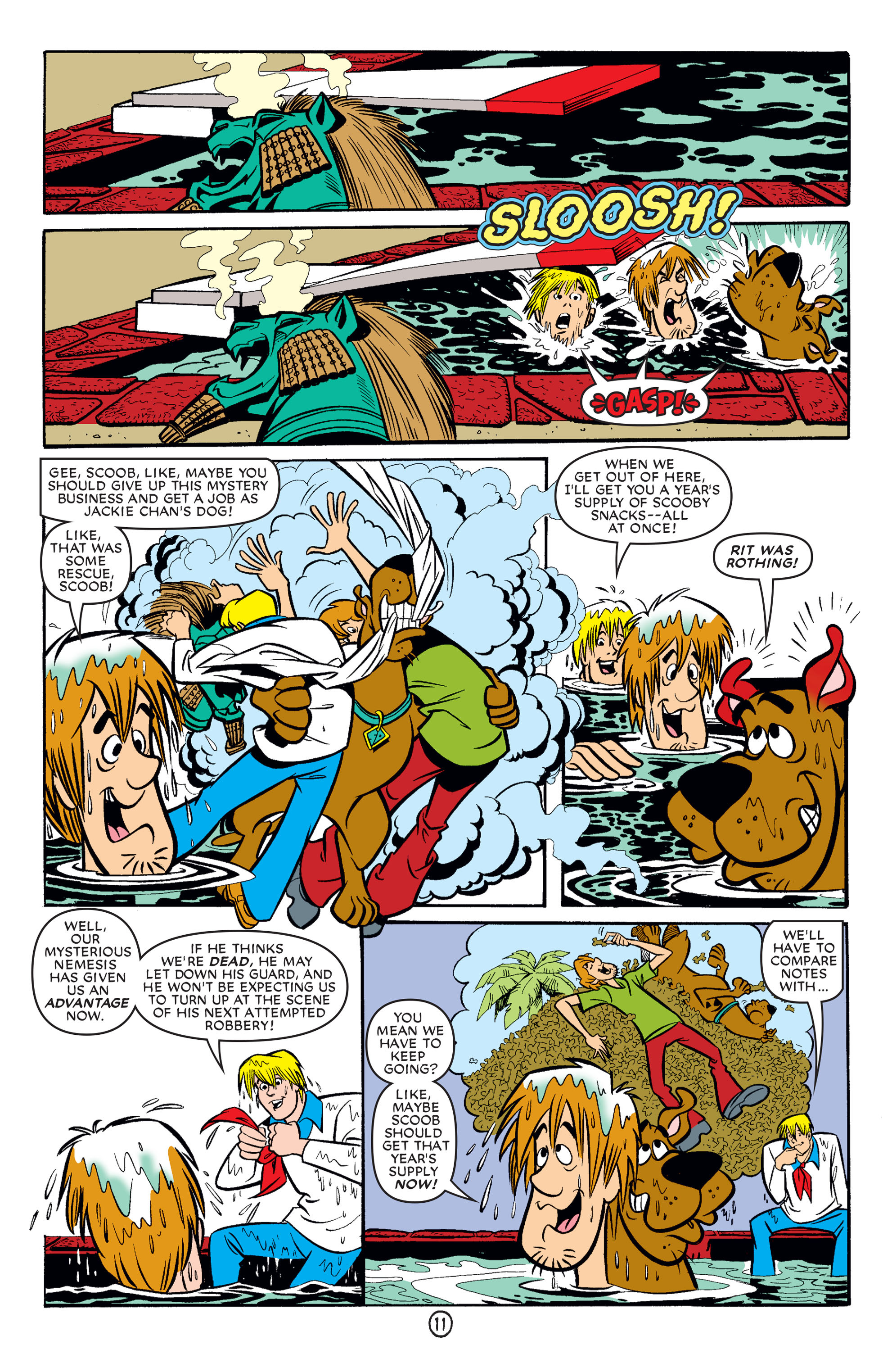 Read online Scooby-Doo (1997) comic -  Issue #62 - 22