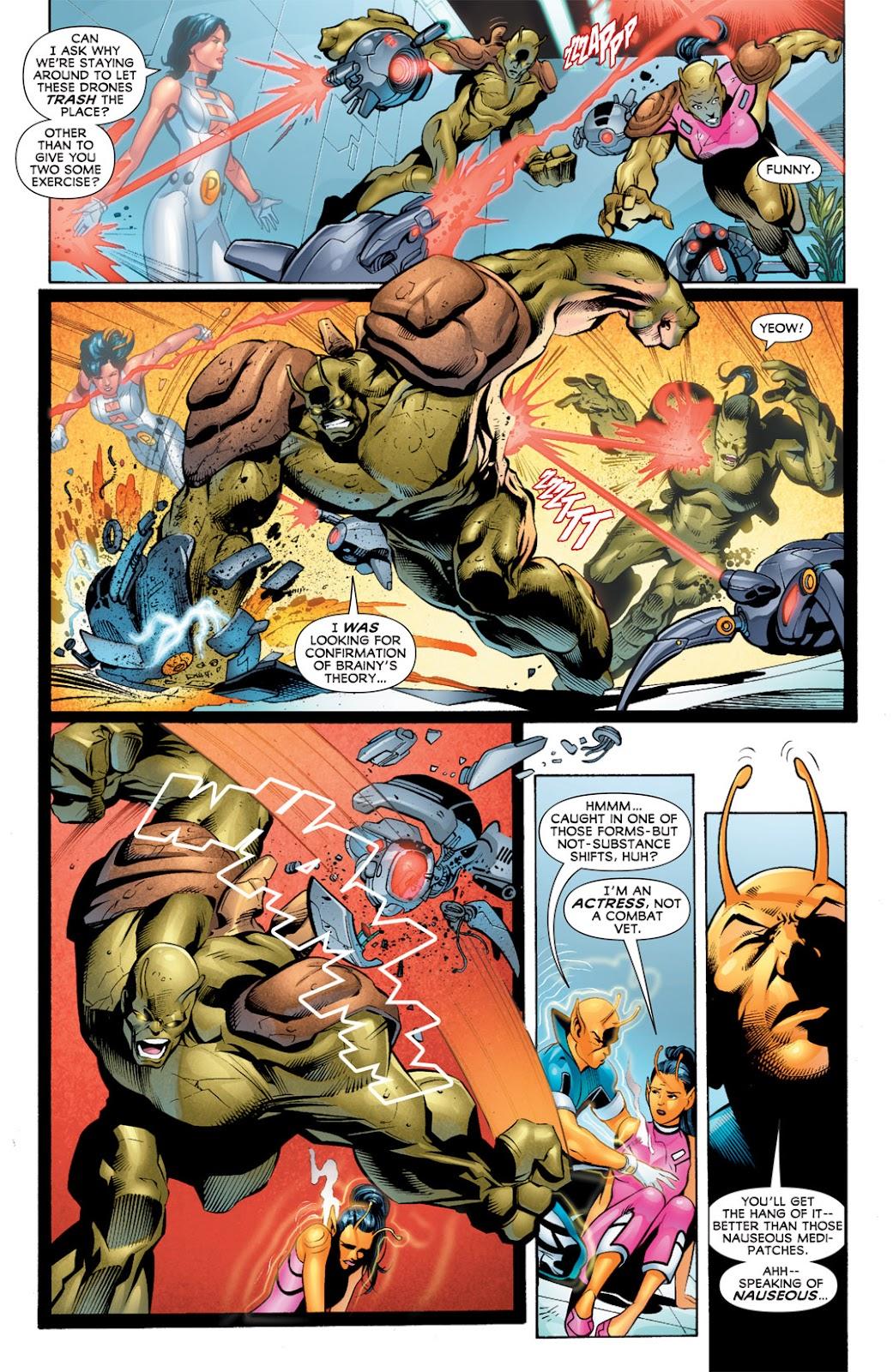 Legion of Super-Heroes (2010) Issue #10 #11 - English 13