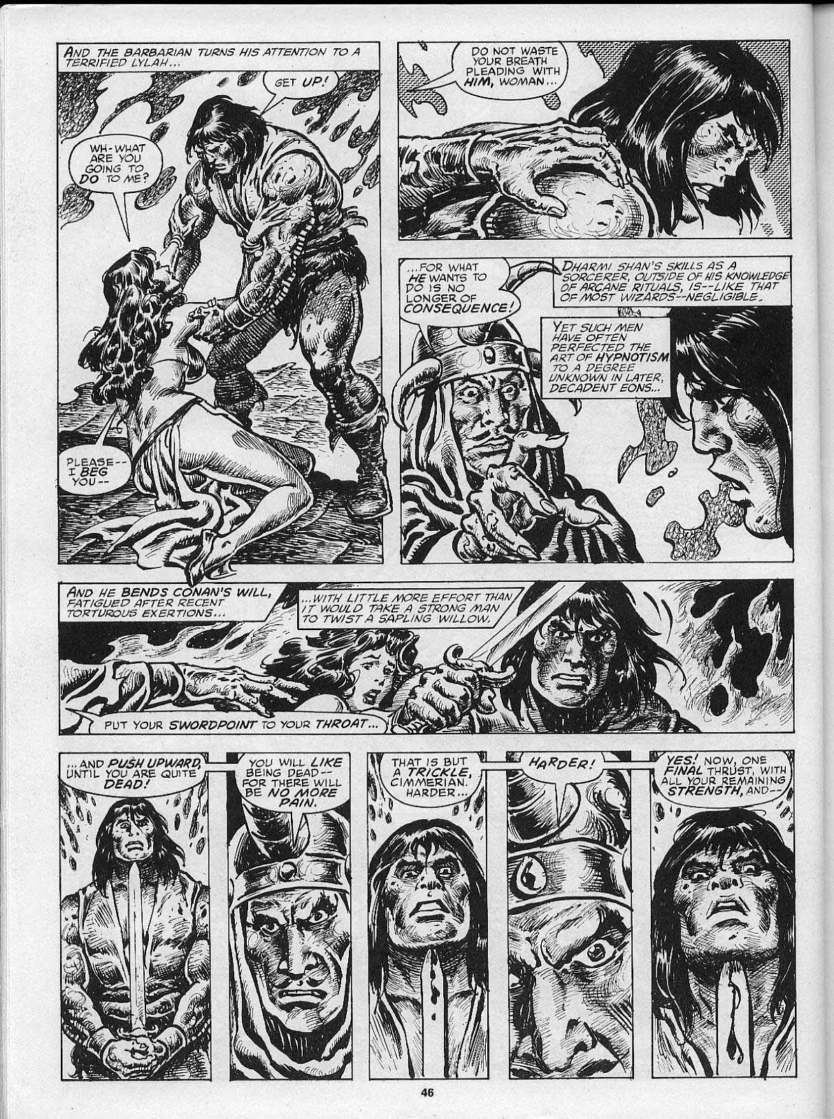 The Savage Sword Of Conan Issue #200 #201 - English 48