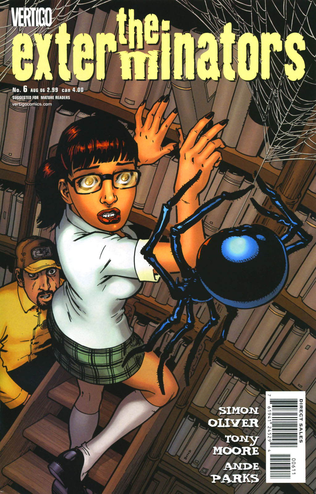 The Exterminators 6 Page 1