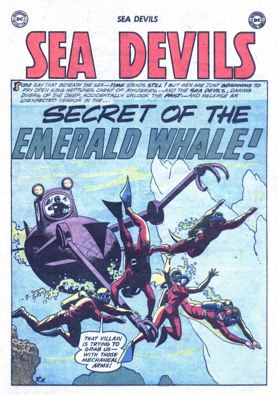 Read online Sea Devils comic -  Issue #1 - 22