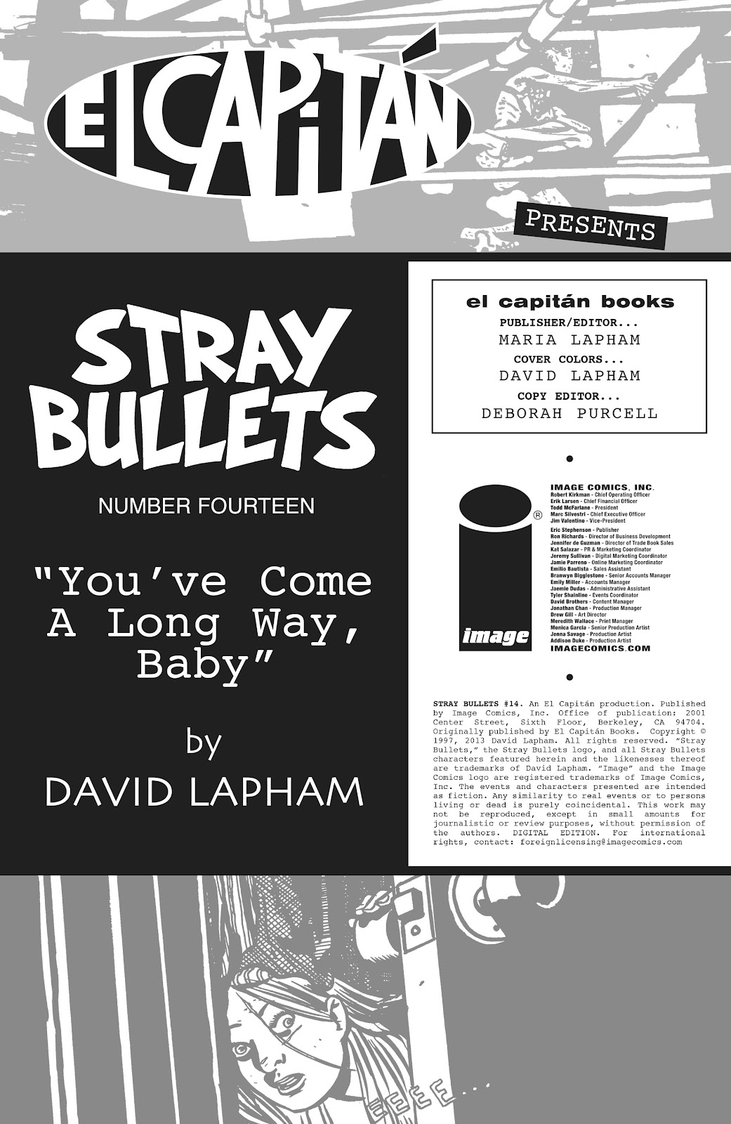 Stray Bullets Issue #14 #14 - English 2