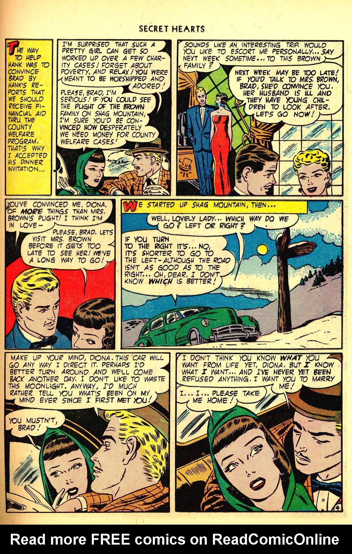 Read online Secret Hearts comic -  Issue #6 - 33