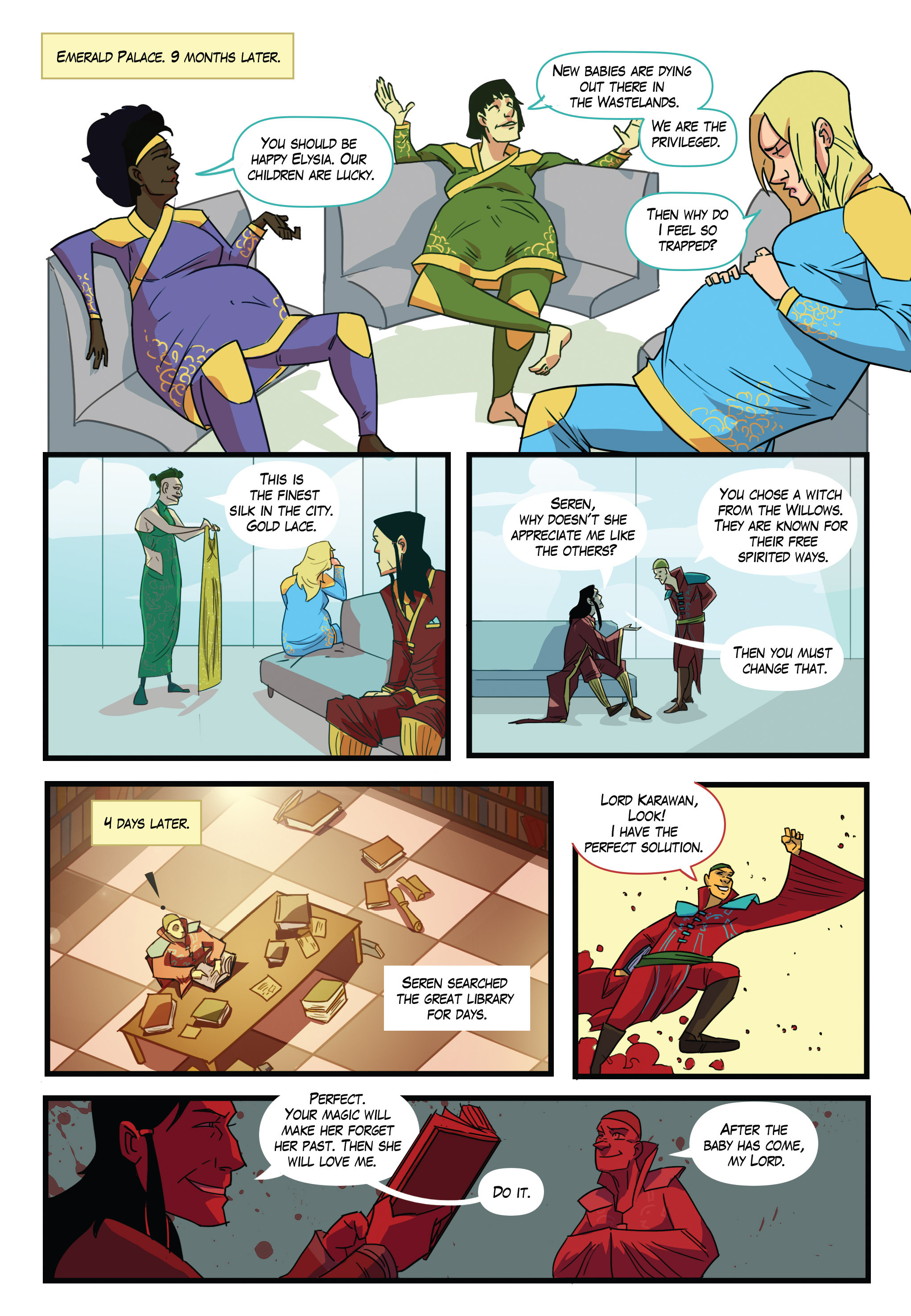Read online Scavenger comic -  Issue #1 - 6