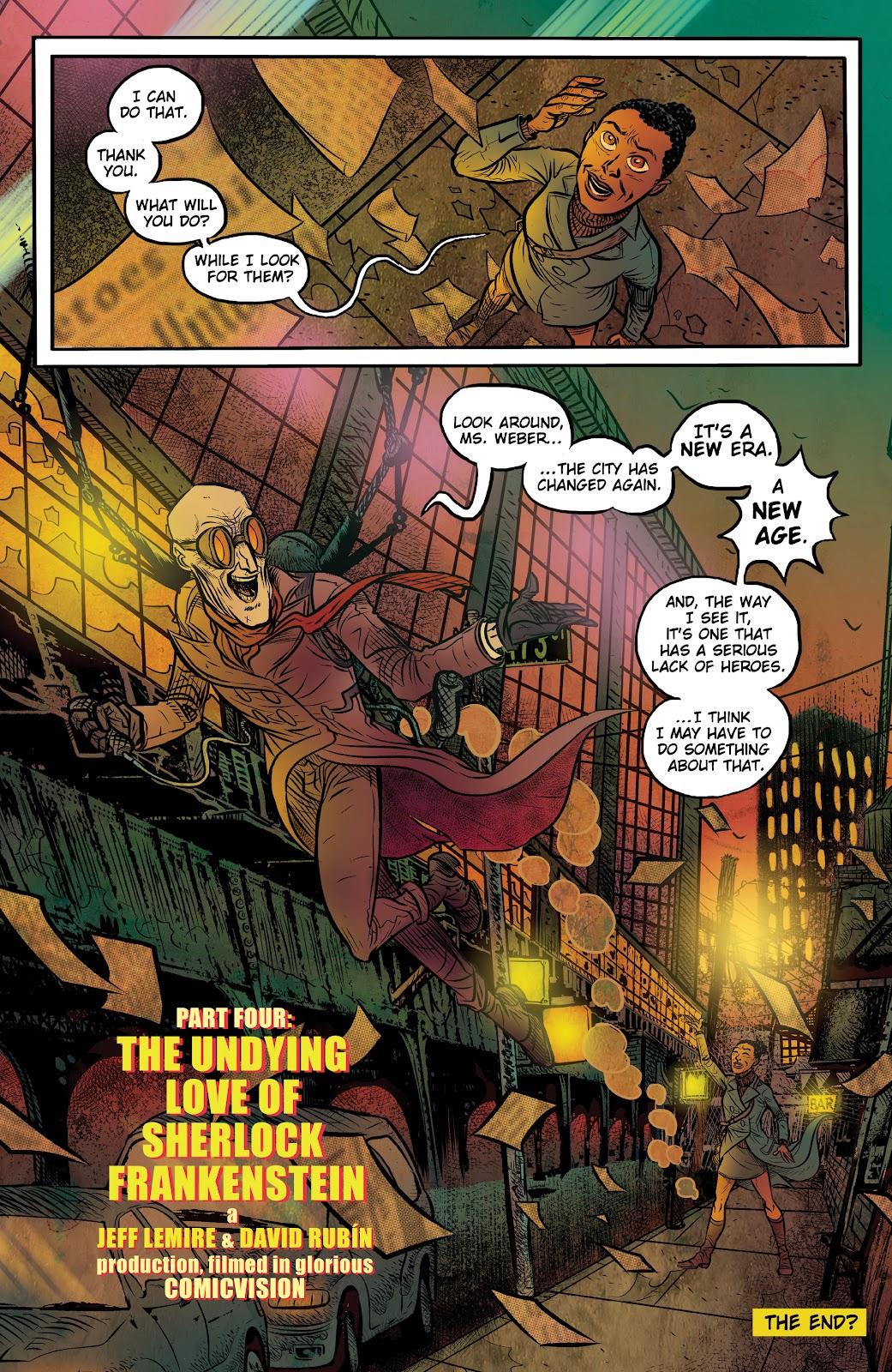 Read online Sherlock Frankenstein and the Legion of Evil comic -  Issue #4 - 15
