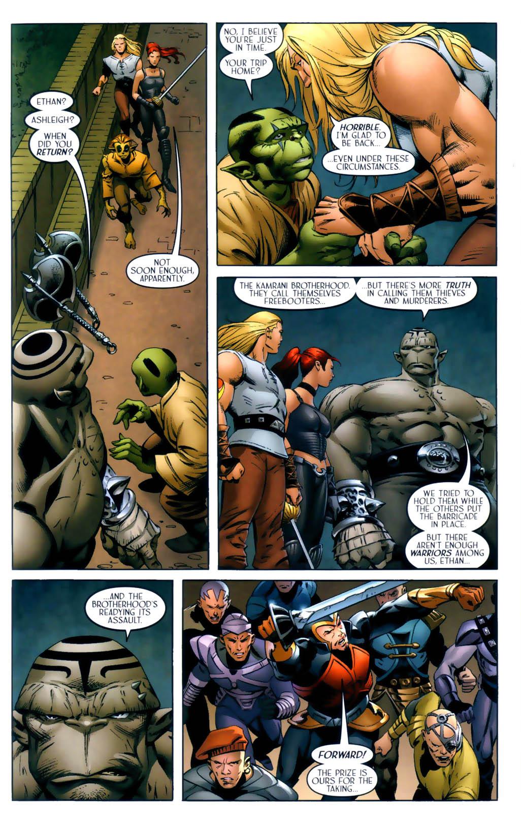 Read online Scion comic -  Issue #30 - 13