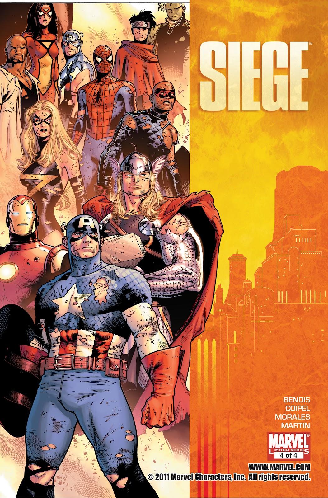 Siege (2010) Issue #4 #4 - English 1