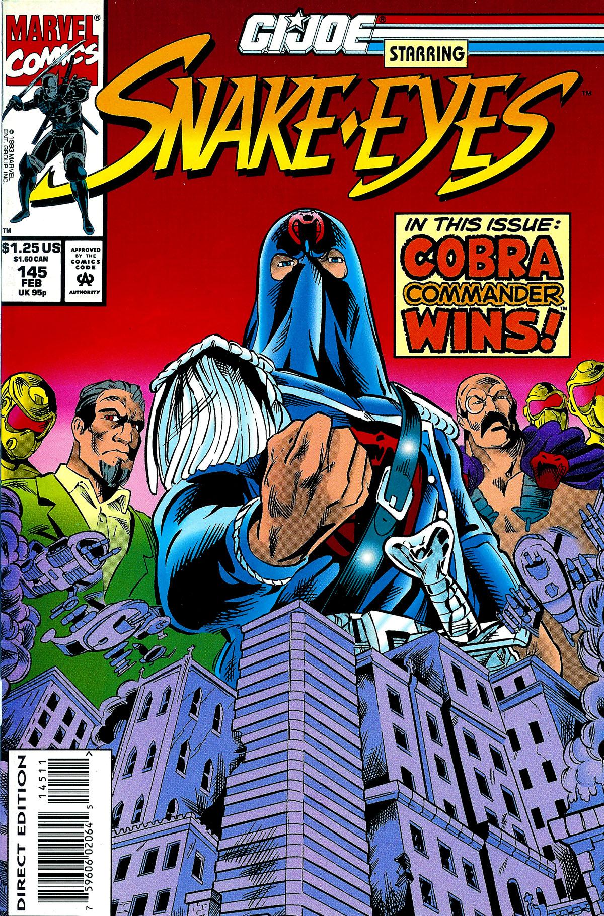 G.I. Joe: A Real American Hero 145 Page 1
