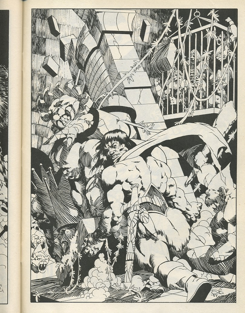 The Savage Sword Of Conan Issue #141 #142 - English 65