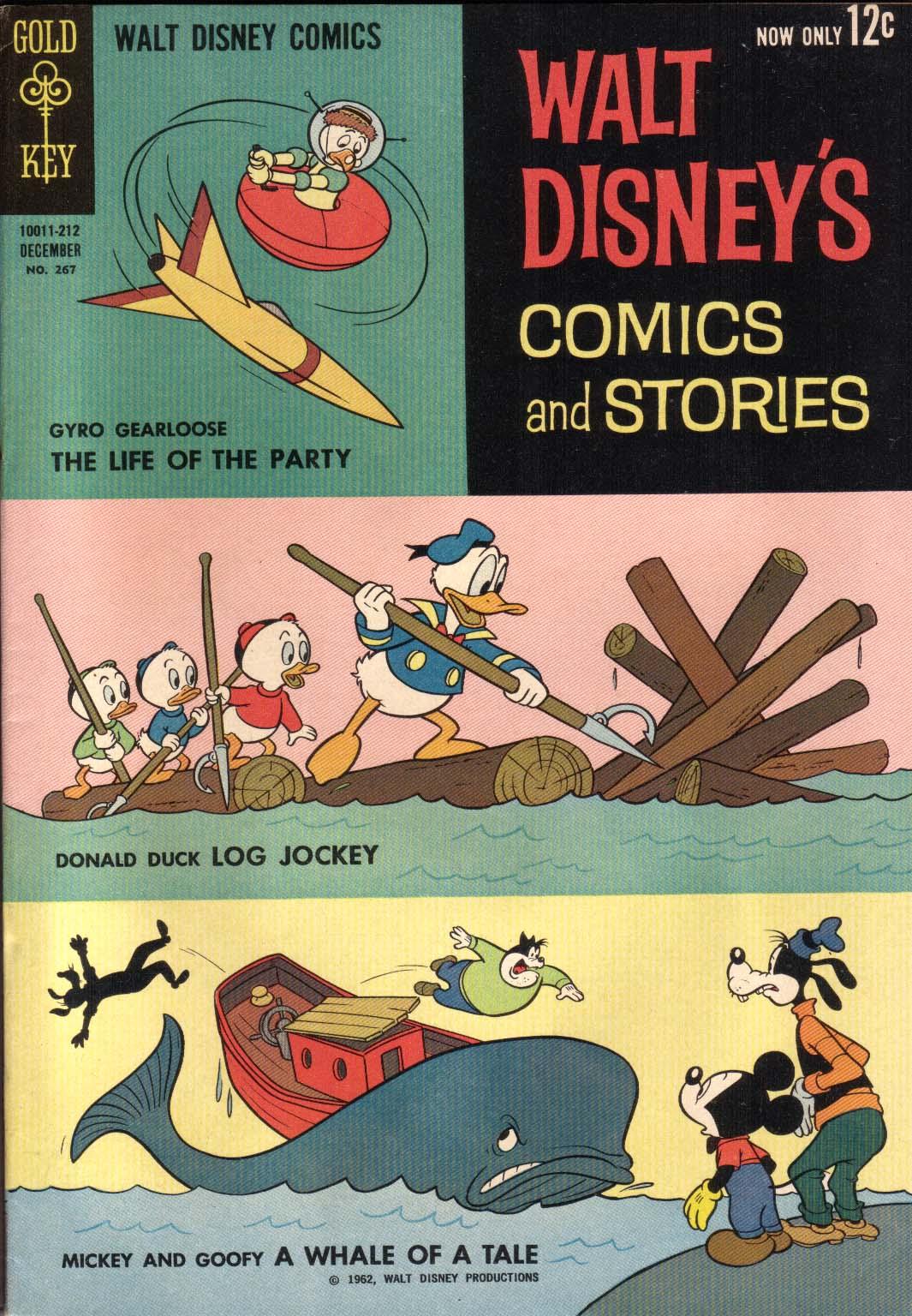 Walt Disneys Comics and Stories 267 Page 1