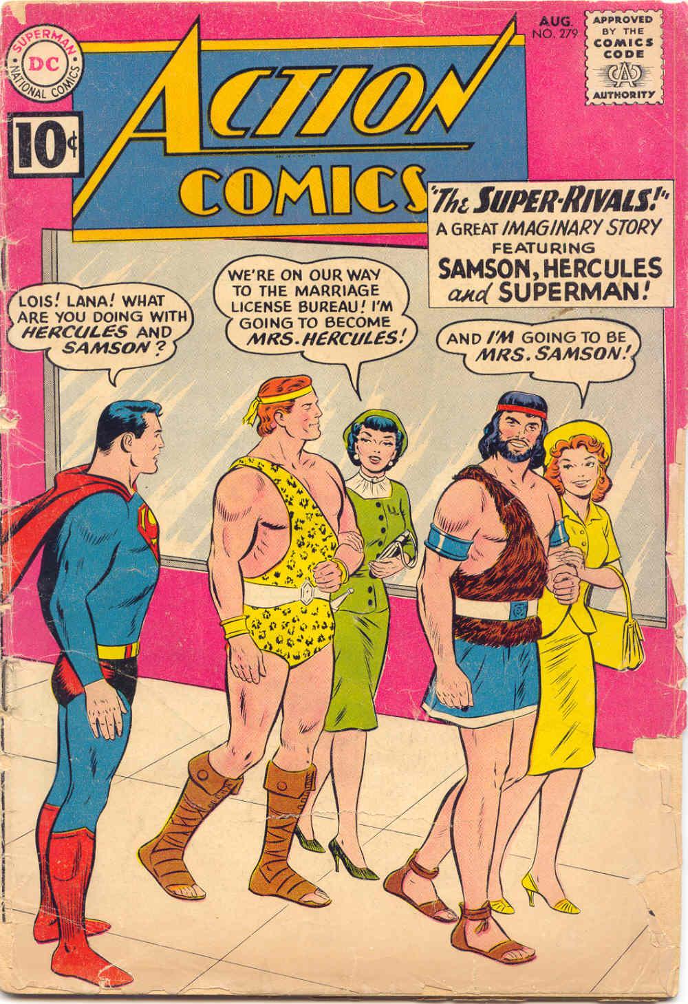 Action Comics (1938) 279 Page 1