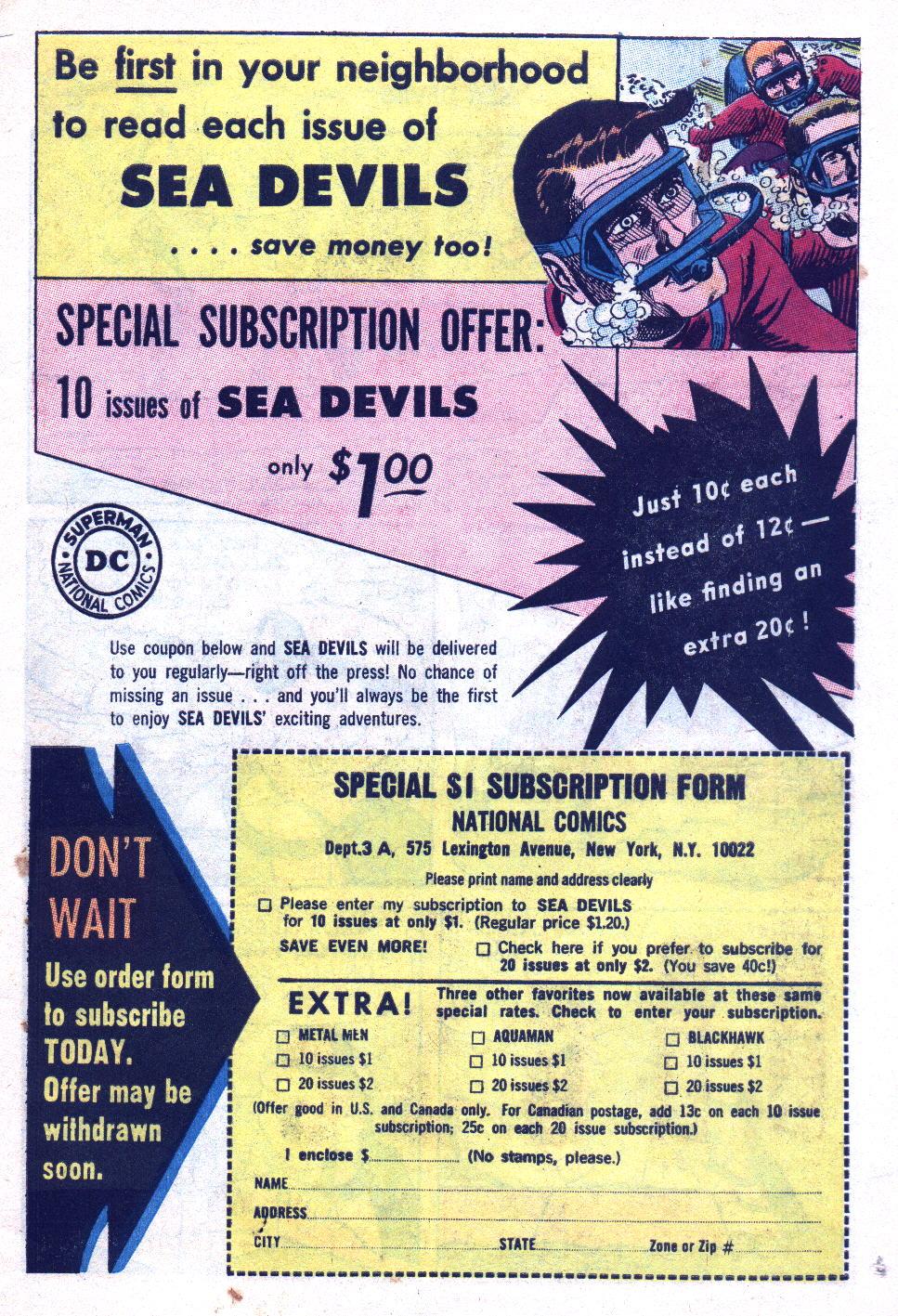 Read online Sea Devils comic -  Issue #20 - 11