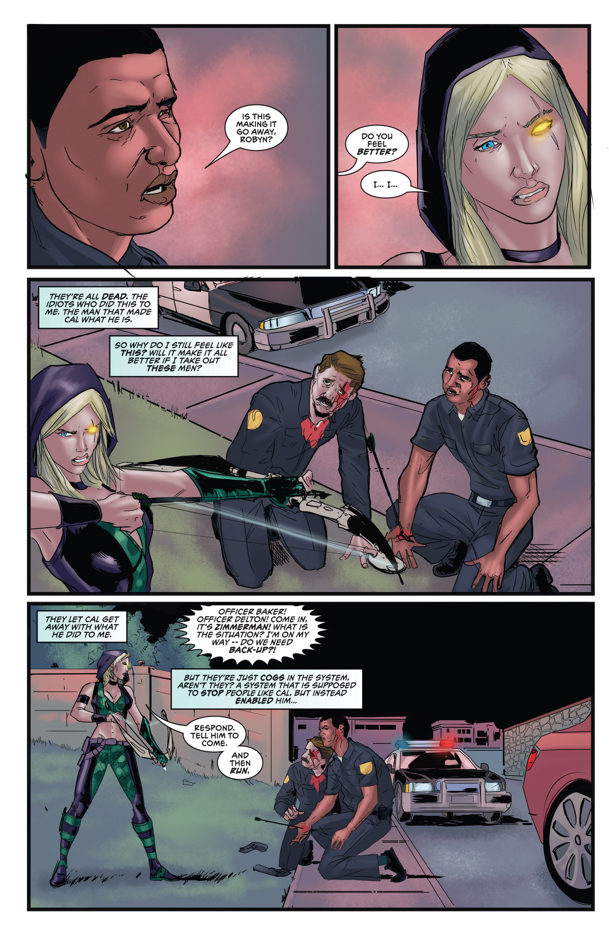 Read online Grimm Fairy Tales presents Robyn Hood (2012) comic -  Issue #5 - 33