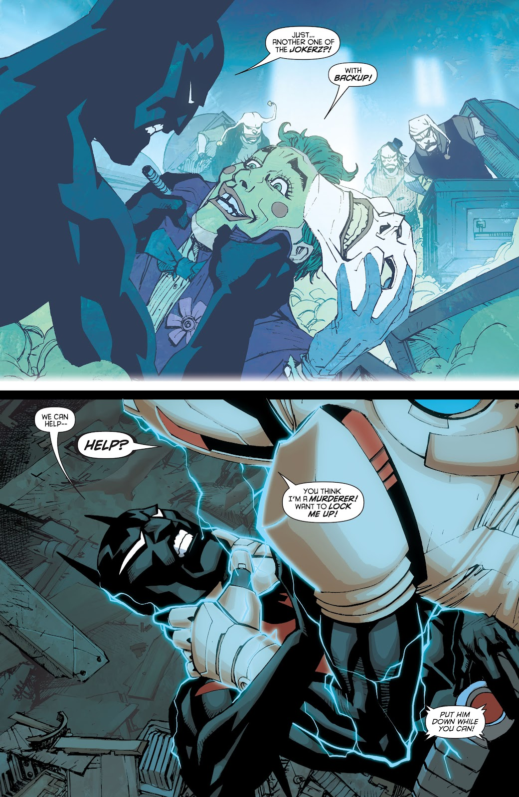 Batman Beyond (2015) Issue #13 #13 - English 16