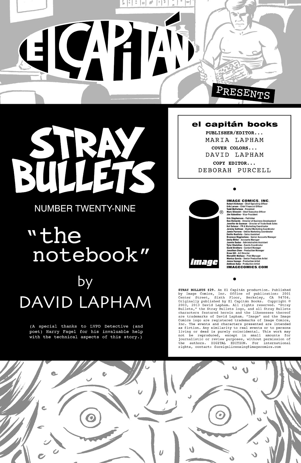 Stray Bullets Issue #29 #29 - English 2