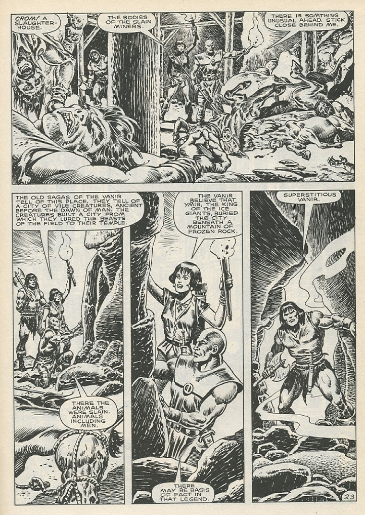 The Savage Sword Of Conan Issue #141 #142 - English 29