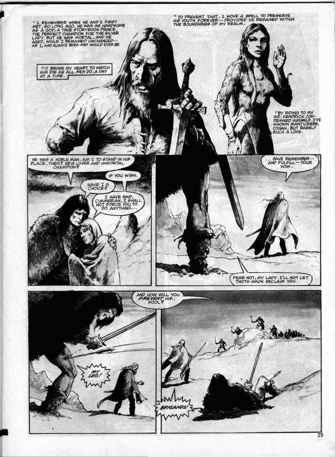 The Savage Sword Of Conan Issue #74 #75 - English 24