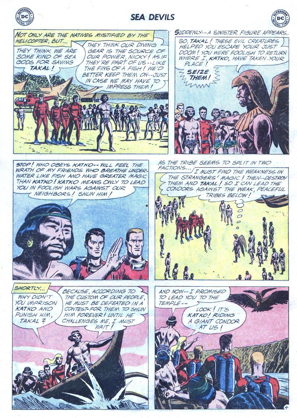 Read online Sea Devils comic -  Issue #4 - 23