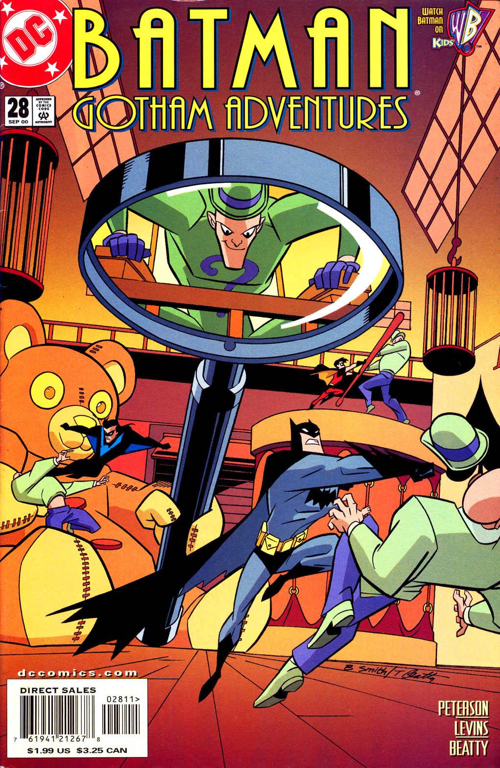 Batman: Gotham Adventures 28 Page 1