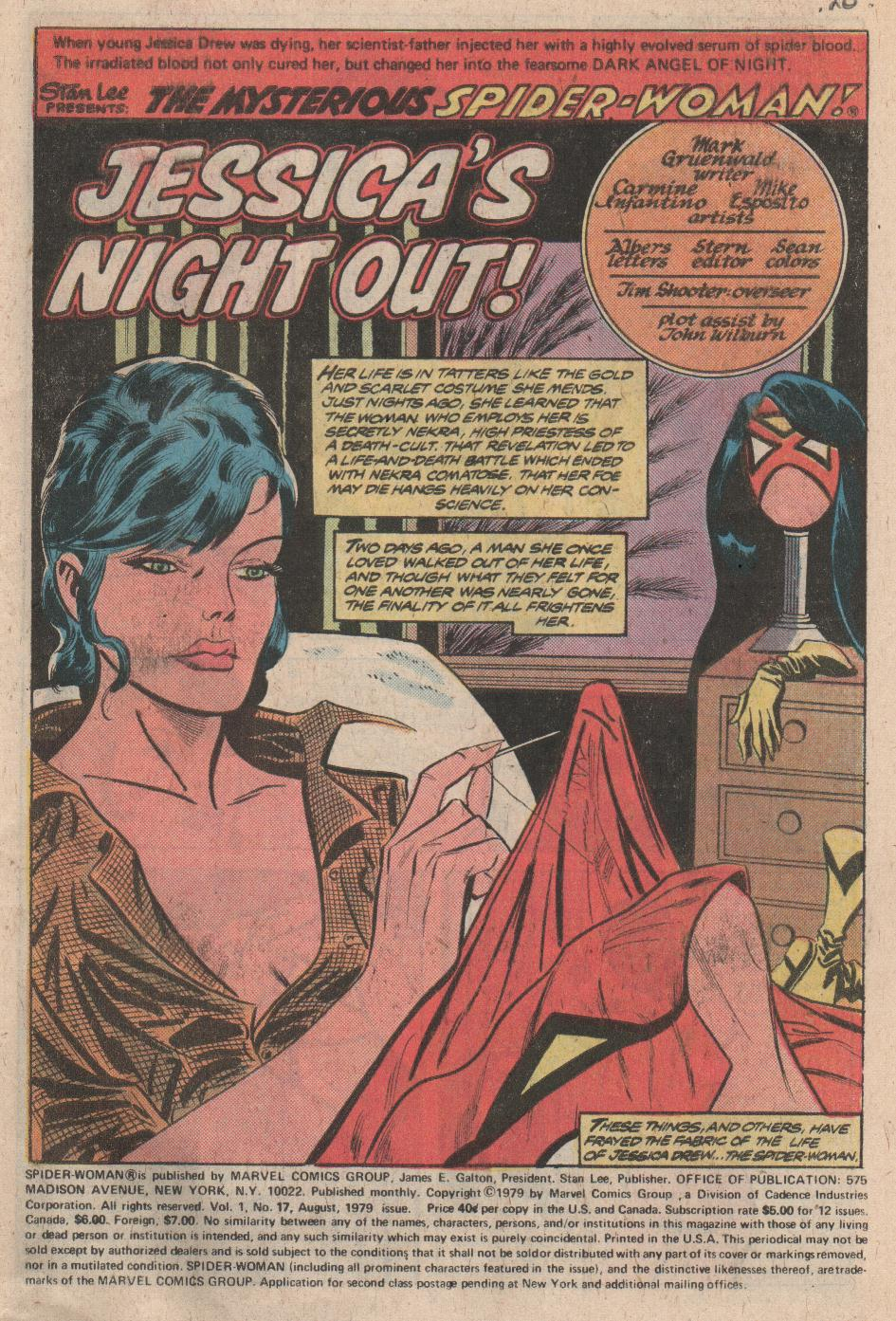 Spider-Woman (1978) Issue #17 #17 - English 2