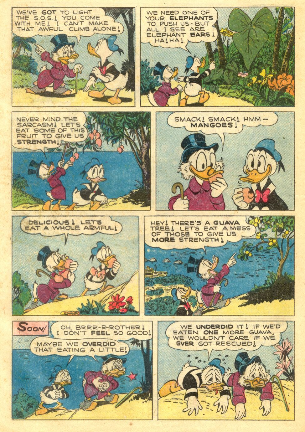 Uncle Scrooge (1953) Issue #4 #4 - English 24