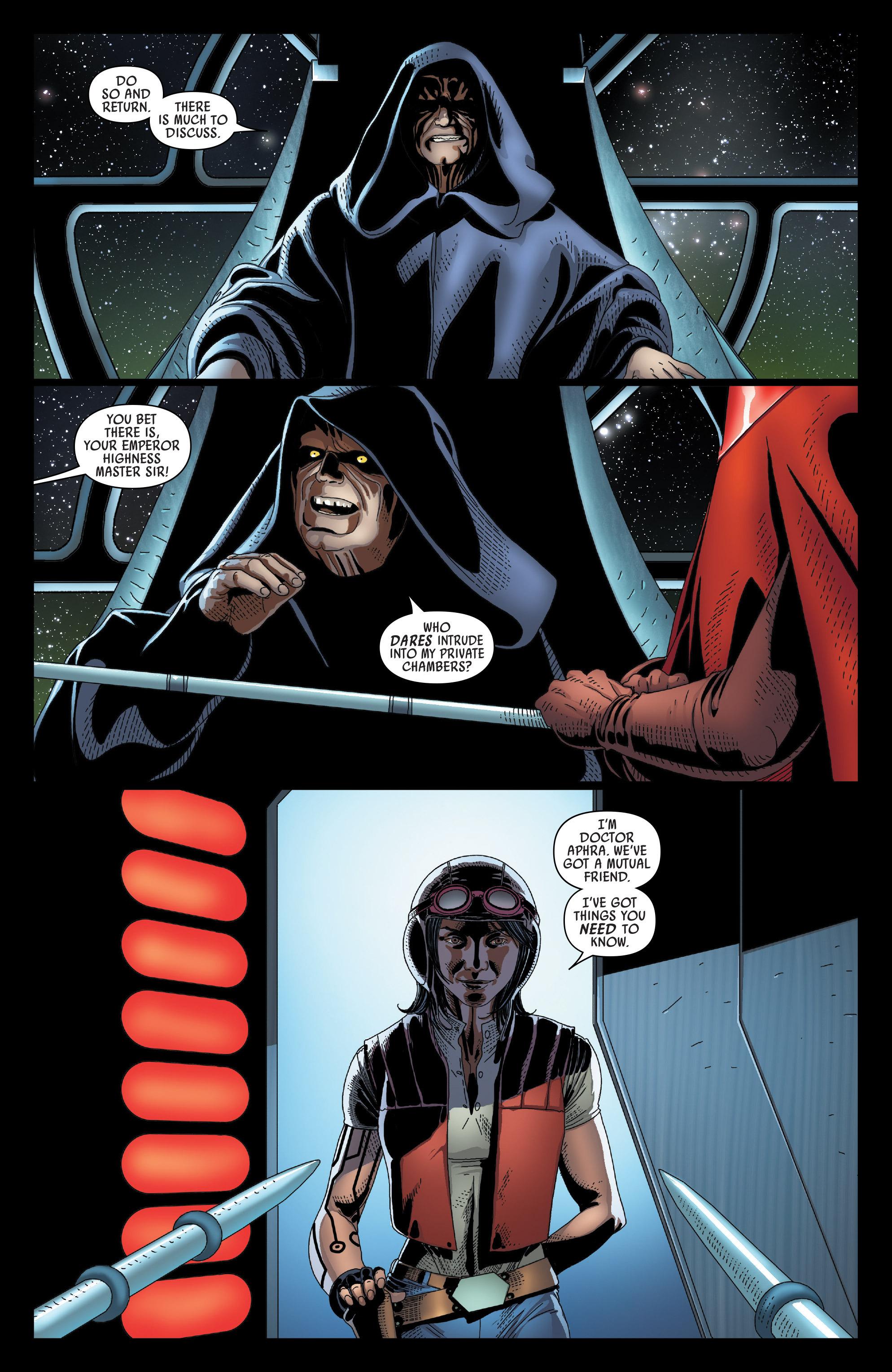 Read online Darth Vader comic -  Issue #24 - 22