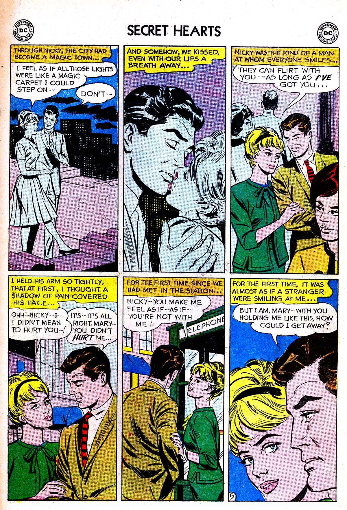 Read online Secret Hearts comic -  Issue #85 - 7