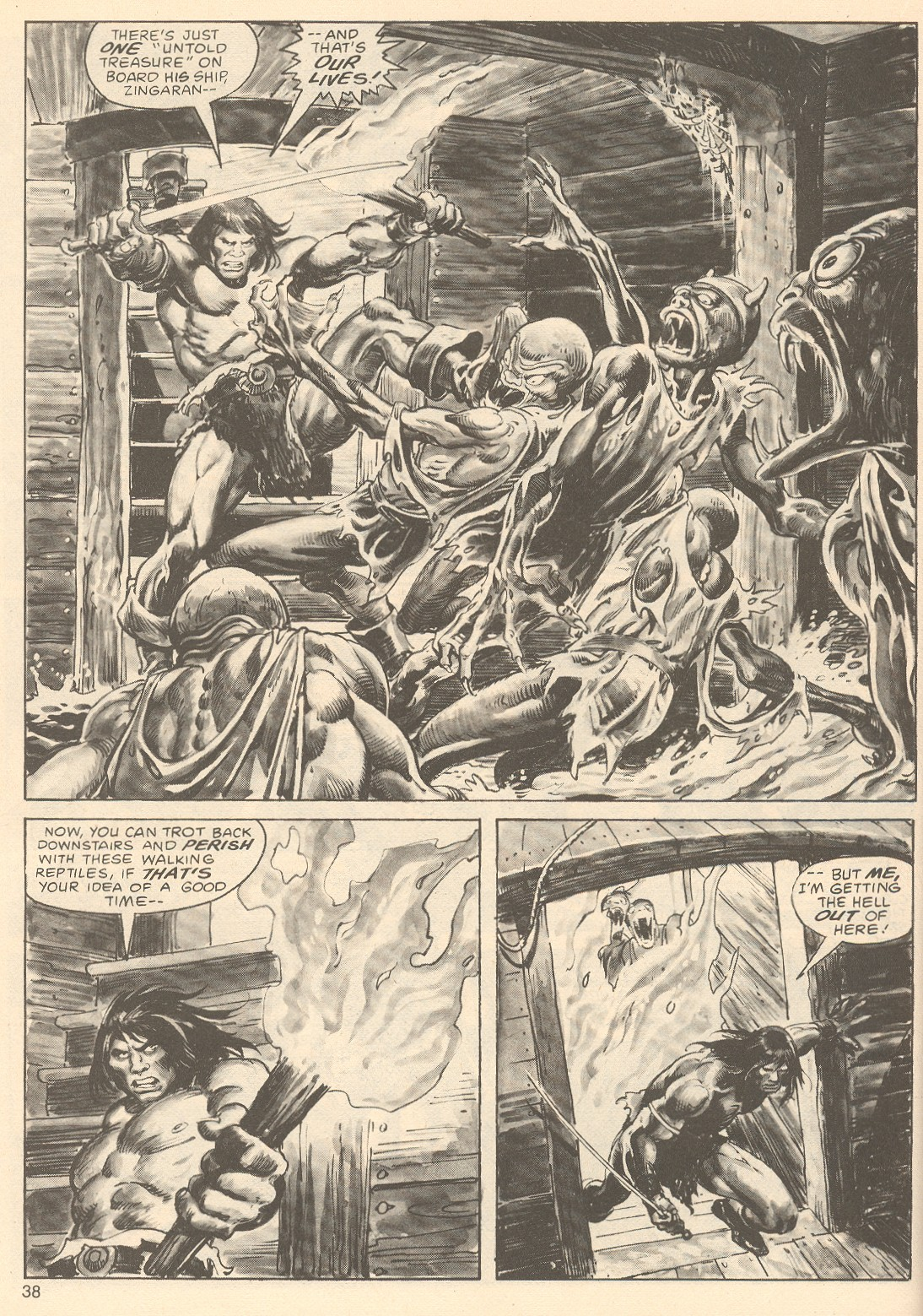 The Savage Sword Of Conan Issue #67 #68 - English 38