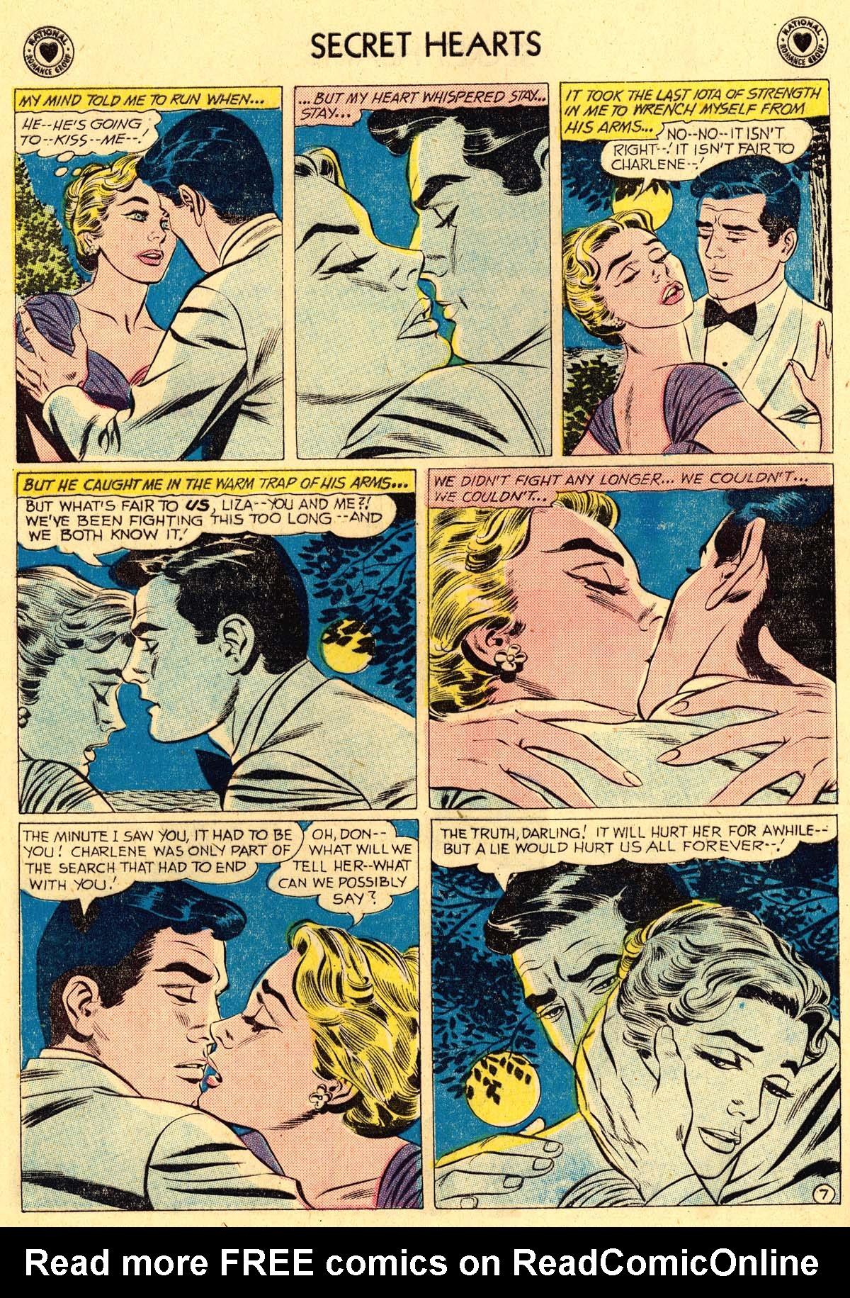 Read online Secret Hearts comic -  Issue #62 - 16